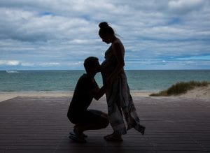 maternity photography ideas, bon beach